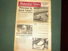 MOTORING NEWS 1975 Jan 9 Levin F5000 Tasman, European F5000 season review, XJ6